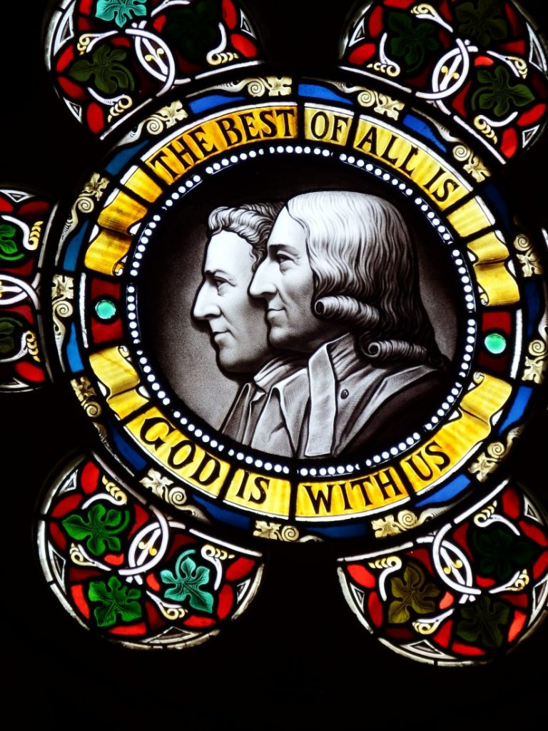 Epworth Wesley window