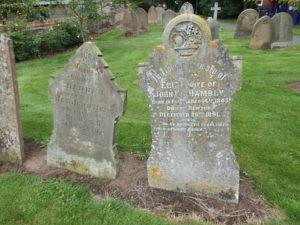 Hunt famil graves at Newton